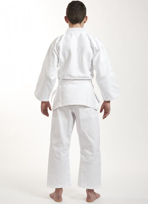 Kimono Ippon Gear Future Alb cu broderie verde [2]