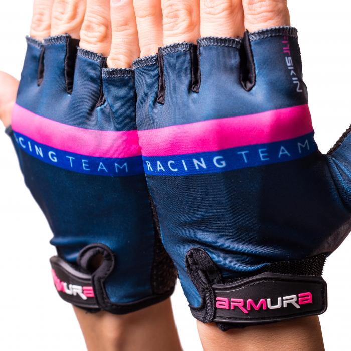 Manusi ciclism dama Fitskin Racing Team Armura [1]