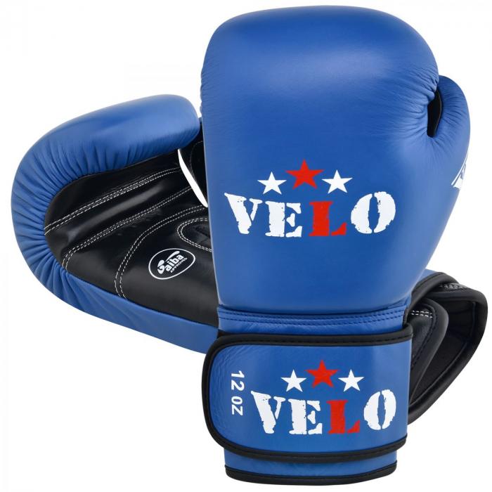 Manusi de box  omologate AIBA Albastre Velo Boxing 3