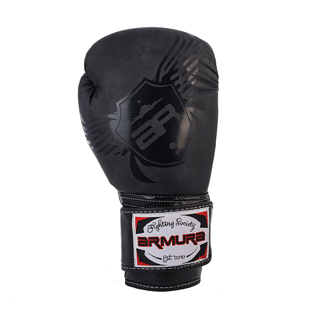 Manusi de box ARMURA Premium Black [2]