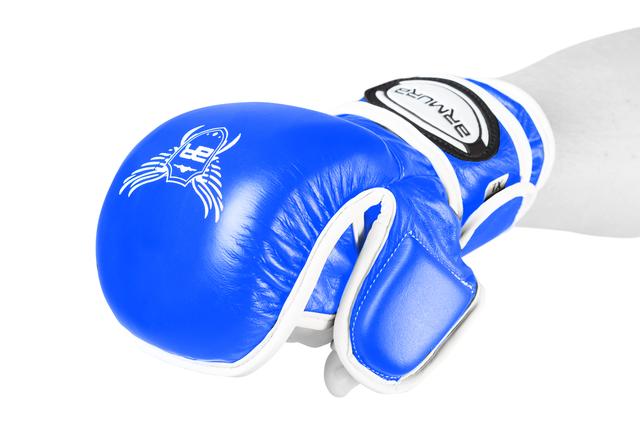 Manusi de MMA  Fortis Albastre Armura 0