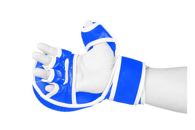 Manusi de MMA  Fortis Albastre Armura 1
