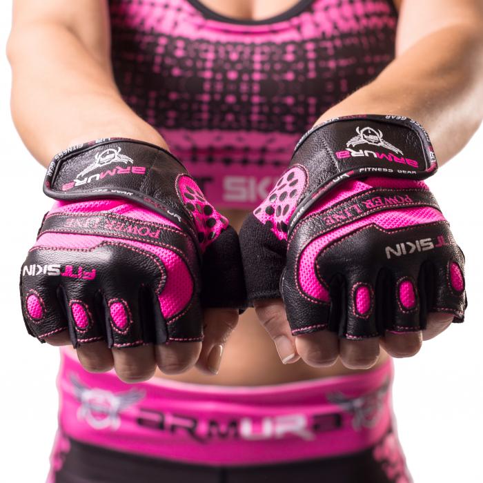 Manusi fitness dama Fitskin Power Line 0