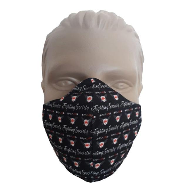 Masca de Protectie Reutilizabila Neagra Armura [0]