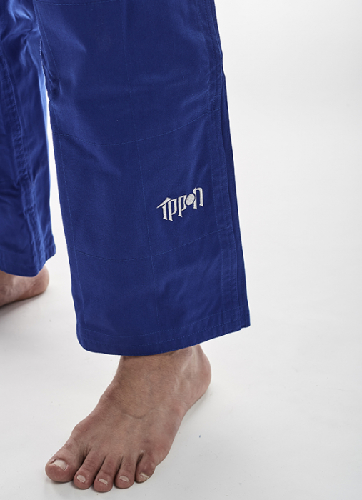 Pantaloni Kimono  Fighter Albastri Ippon Gear [1]