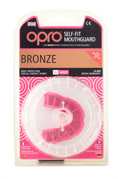 Proteza Opro Junior Bronz Level Roz Opro [1]