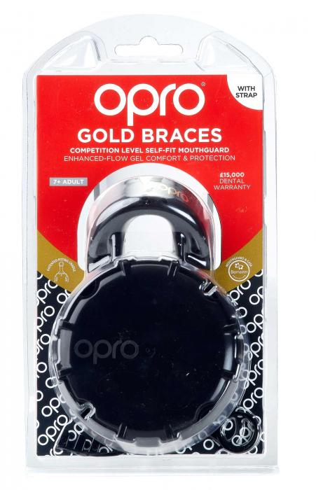 Proteza  Senior  Gold Level Neagra Opro [1]