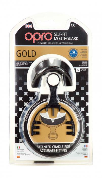 Proteza   Senior  Gold Level Neagra/Aurie Opro [1]