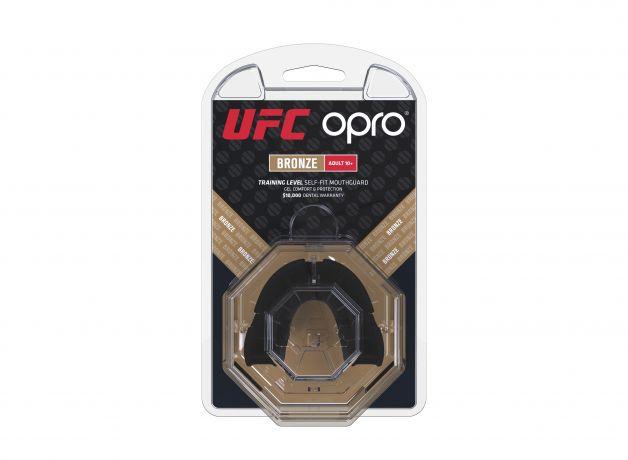 Proteza  UFC Senior  Bronz Level Neagra Opro 2