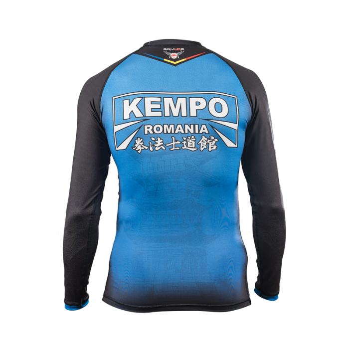 Rashguard Armura Kempo Albastru 2