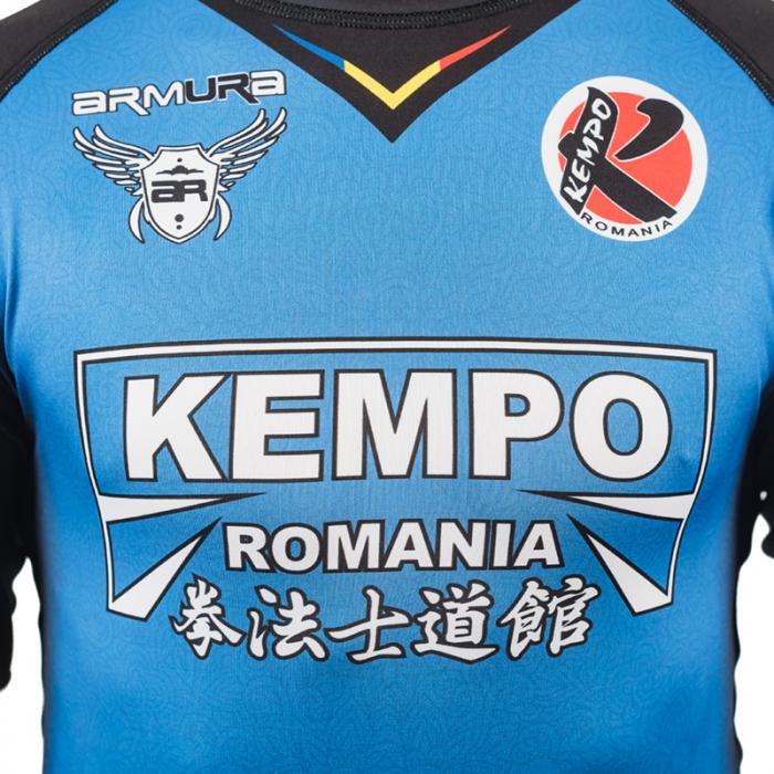 Rashguard Armura Kempo Albastru 5