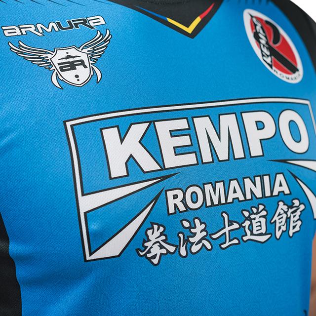 Tricou Kempo Albastru Armura 3