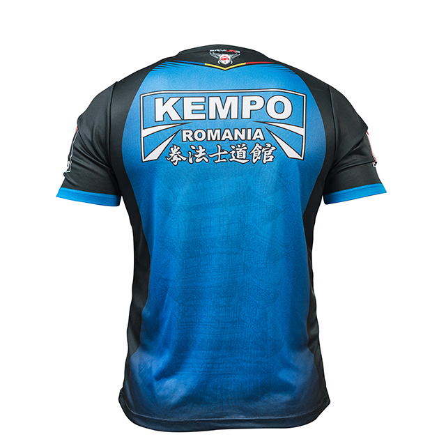 Tricou Kempo Albastru Armura 2