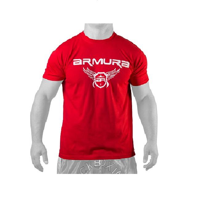 Tricou  Rosu Armura 1