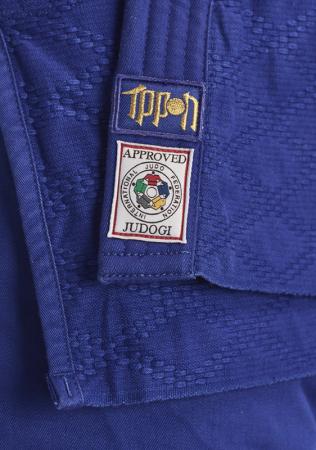 Bluza Ippon Gear Kimono Legend IJF Judo Albastra5