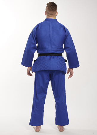 Bluza Ippon Gear Kimono Legend IJF Judo Albastra3
