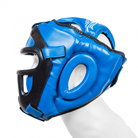 Casca  cu grilaj Protector 3.0 Albastra Armura1