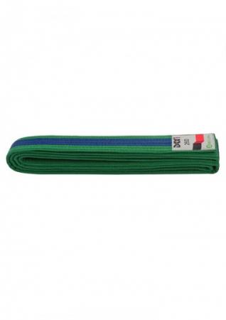 Centura  Bicolora Verde-Albastru-Verde Dax Sports