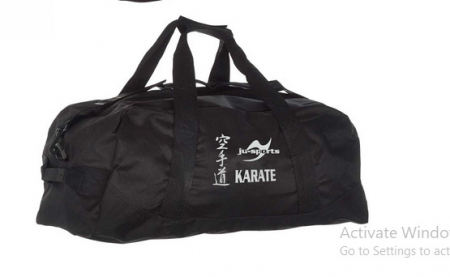 Geanta Junior Neagra Karate Ju Sports