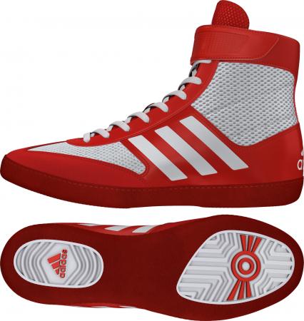 Ghete lupte Combat Speed V Rosii/Albe Adidas