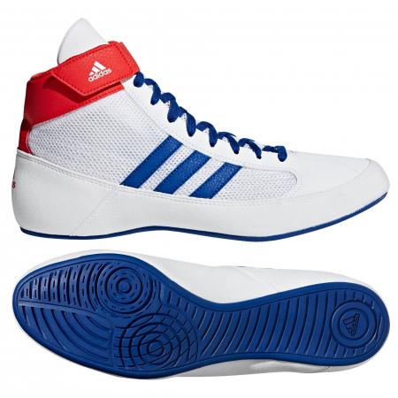 Ghete lupte  Havoc Albe Adidas0