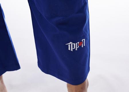 Kimono Basic Albastru Ippon Gear [4]