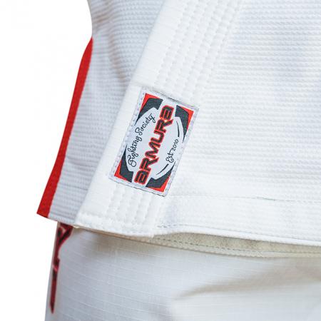 Kimono de BJJ ARMURA Praetorian 2.0 Alb [6]