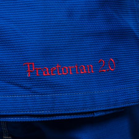 Kimono de BJJ  Praetorian 2.0 Albastru Armura2