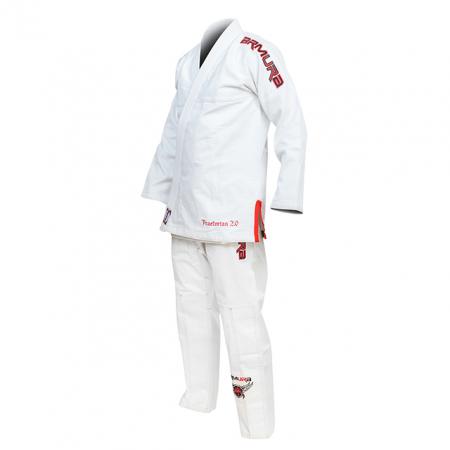Kimono de BJJ  Praetorian Copii 2.0 Alb Armura [0]