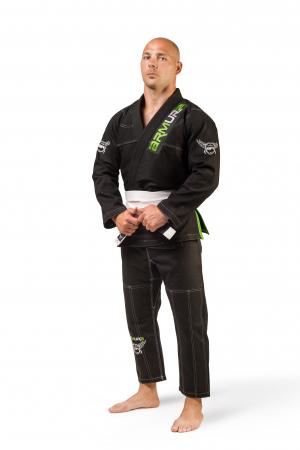 Kimono de BJJ  Praetorian Negru Armura [0]