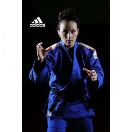 Kimono Judo Champion II IJF Tricolor Adidas