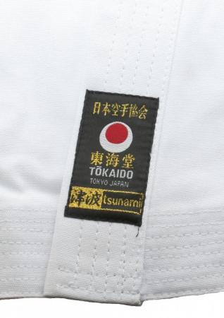 Kimono Karate  TSUNAMI GOLD JKA Tokaido1