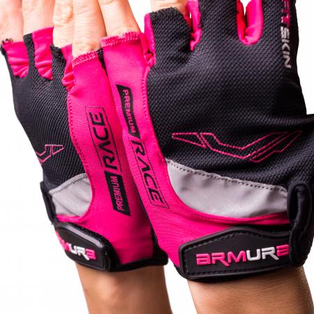 Manusi ciclism dama Fitskin Premium Race Armura2