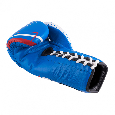 Manusi de box Dynamite Fight Show Albastre Armura3