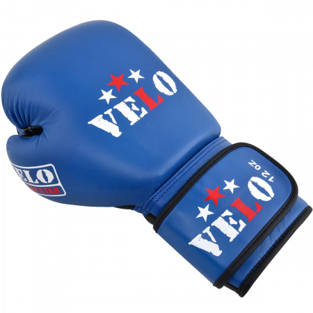 Manusi de box  omologate AIBA Albastre Velo Boxing2