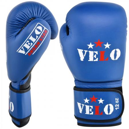 Manusi de box  omologate AIBA Albastre Velo Boxing0