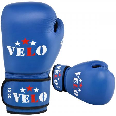 Manusi de box  omologate AIBA Albastre Velo Boxing4