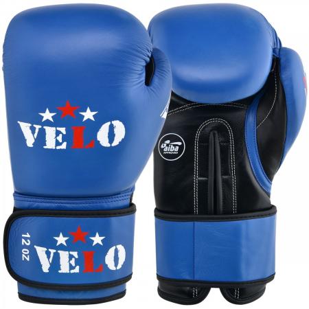 Manusi de box  omologate AIBA Albastre Velo Boxing1