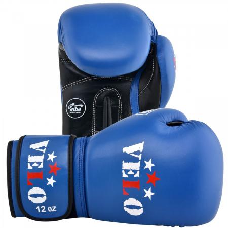 Manusi de box  omologate AIBA Albastre Velo Boxing5
