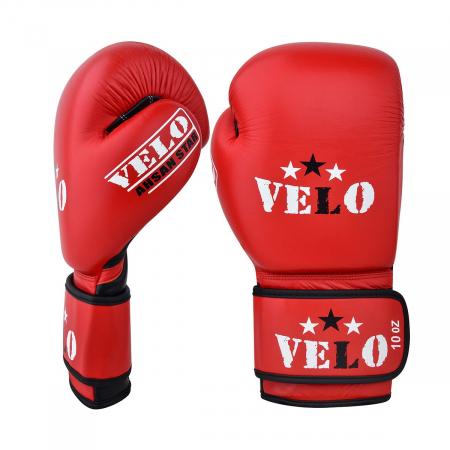 Manusi de box omologate AIBA Rosii Velo Boxing [0]