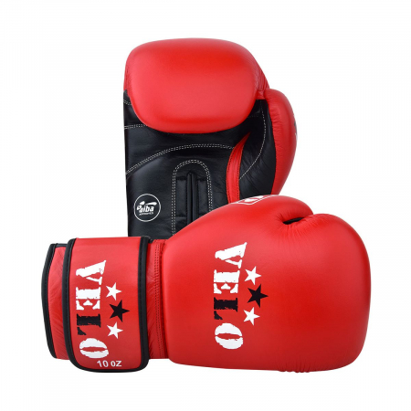 Manusi de box omologate AIBA Rosii Velo Boxing [2]