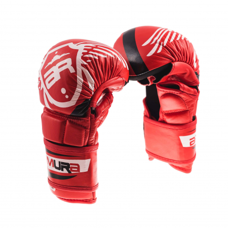 Manusi de MMA  Fortis 2.0 Rosii Armura0