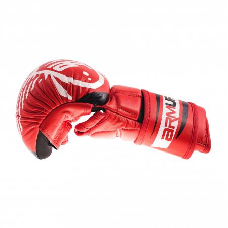 Manusi de MMA  Fortis 2.0 Rosii Armura2