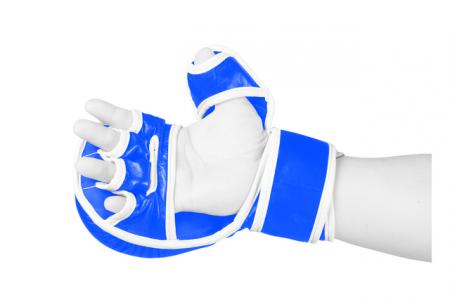 Manusi de MMA  Fortis Albastre Armura1