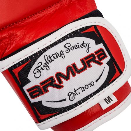 Manusi de MMA  Milenium 2.0 Rosii Armura2