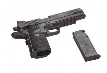 Replica pistol cauciuc cu incarcator Armura