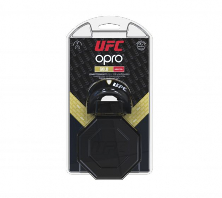 Proteza  UFC Senior  Gold Level Neagra Opro1