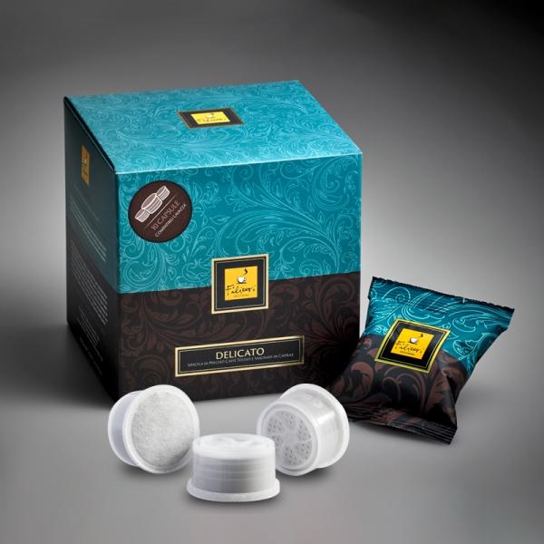 Cafea Filicori Zecchini Gran Crema Delicato, Capsule Espresso Point 100 buc/cutie 0
