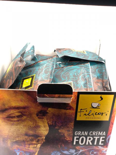 Cafea Filicori in Monodoze Cialde 7g Gran Crema Forte 50/buc 1