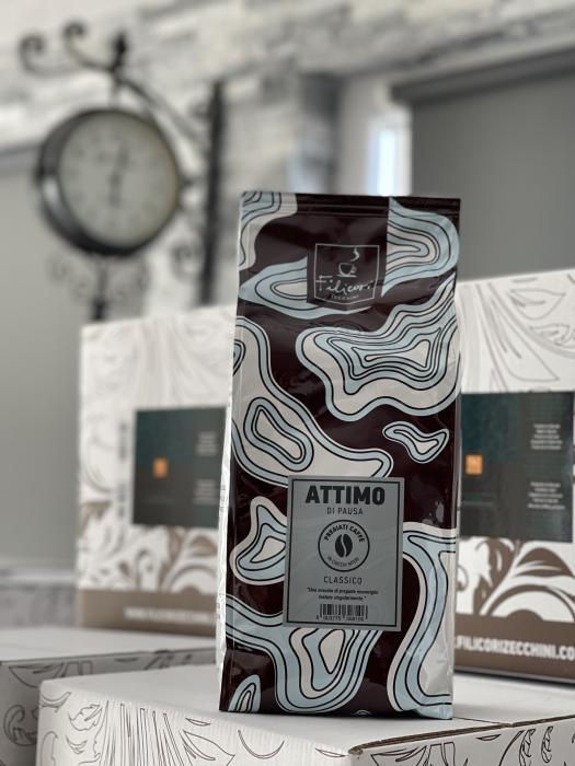 Cafea Filicori Zecchini Attimo  di Pausa, 1 kg boabe 1